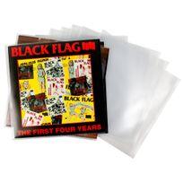 Duragadget - Pochettes de rangement pour disques vinyles 12 pouces 30 cm X10