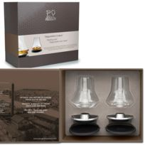 Peugeot - coffret noël set duo de dégustation whisky - 250348