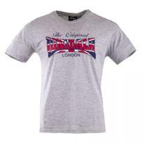 Lonsdale - Tee shirt à manches courtes floqué homme