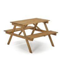 Alinéa - Duoti Table de pique-nique en acacia pour enfant