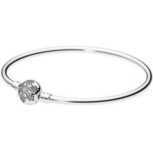 Pandora , Bracelet Noël Magique 590740CZ , Bracelet Moments Argent Flocon  de Neige Unique Femme