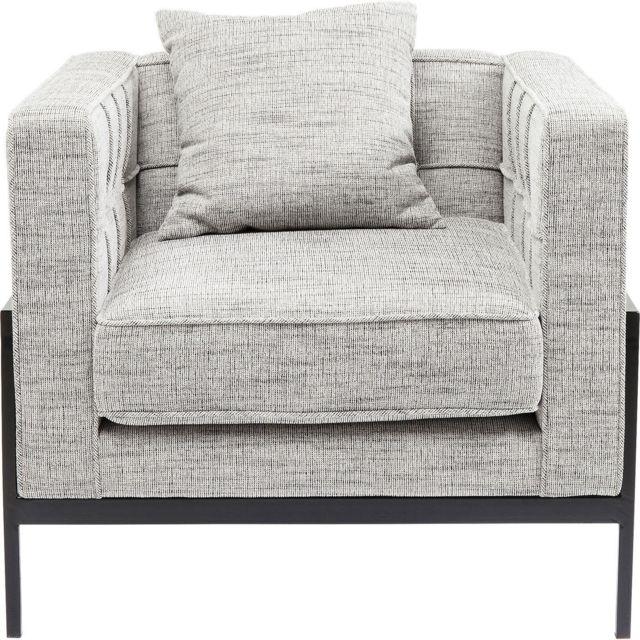 Karedesign Fauteuil Loft gris clair Kare Design