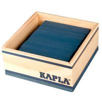 Kapla - 40 planchettes - Bleu foncé