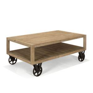 Alinéa Cocto Table Basse Style Industriel Pas Cher Achat