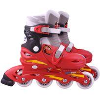 DISNEY - CARS - Roller en ligne pour enfant - Pointures 30 à 33 - J892302