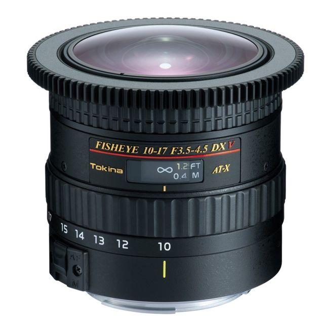 Tokina Objectif At-x10-17mm Pro Dx V C/EF