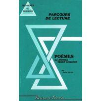 Bertrand Lacoste - Poemes De Leopold Sedar Senghor - Parcours De Lecture