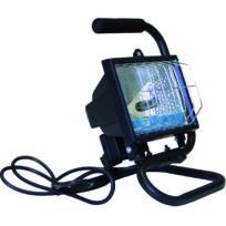 Lekingstore - Projecteur Halogène Sur Pied Portable Noir 120W