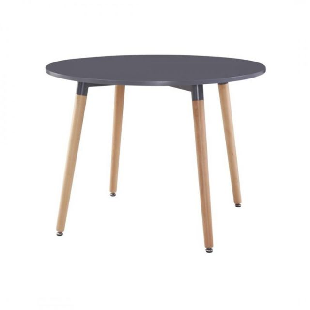 Zoli99 Klary Table ronde grise