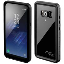4SMARTS - Coque Galaxy S8 Protection Etanche Integrale Antichocs 2m - Noir