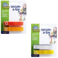 Baby Buddy - Secure-a-toy Straps 4CT For 6- 36 Months MULTICOLOURED