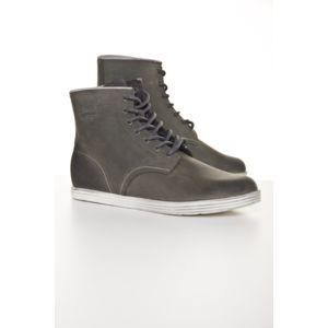 Martin Bottines Femmes Mode Casual Casual En Cuir Boots BDG-XZ021Gris41 pdPxo