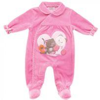 Noukie's - Pyjama Rose Fuschia 6M Iris et Babette
