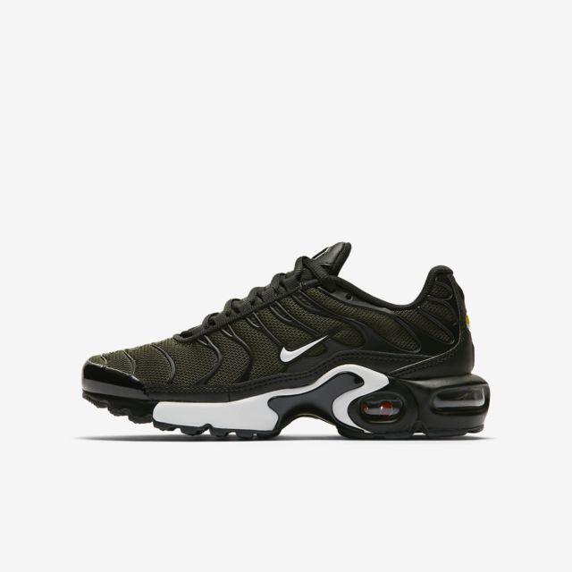 low priced 58121 ceb53 Nike - Air Max Plus - 655020-302 - Age - Adolescent, Couleur - Kaki, Genre  - Mixte, Taille - 38 - pas cher Achat   Vente Chaussures basket -  RueDuCommerce