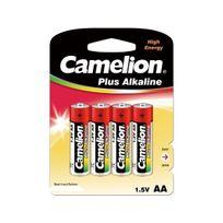 Camelion - Blister de 4 piles 1.5V Aa Super Alcaline