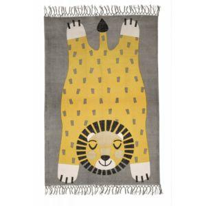 nattiot tapis baba la panth re d coration chambre enfant gar on par couleur jaune taille. Black Bedroom Furniture Sets. Home Design Ideas