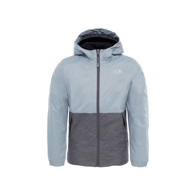 ba27a9fa88 The north face - Veste Warm Storm gris enfant - pas cher Achat ...