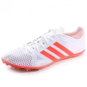 Chaussures Adizero Ambition Blanc Rouge Athlétisme Homme Adidas Multicouleur