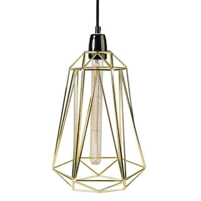 Par Ø21cm Filaire Diamond Doré Designé Câble Maré Laurent Baladeuse Métal Noir 5 Lampe pqUGzSMV