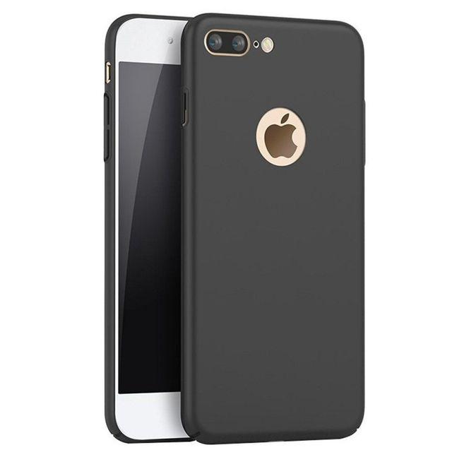 coque silicone noir gel tpu ultra slim ultra souple pour iphone 7 plus
