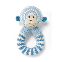 Bellybutton - 10462-40000 - Eveil - Hochet - Petit Singe -bleu