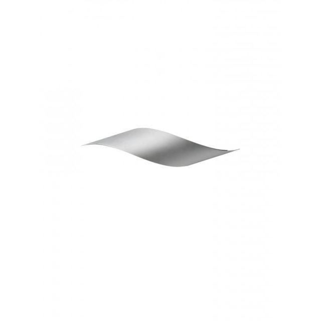 Leds C4 Applique Rizz, aluminium mat et Ppma, 34 cm