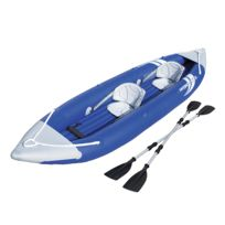 BESTWAY - Kayak HYDRO-FORCE BOLT X2 - L 385 x l 93 cm - 2 sièges pour 2 adultes