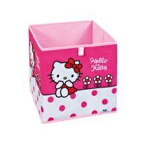 """Altobuy - Hello Kitty - Bac de Rangement """"Fleur"""