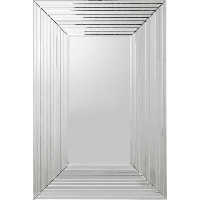 Karedesign miroir linea rectangulaire 150x100 cm kare for Miroir design rectangulaire