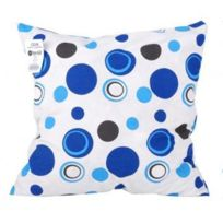 Fornord - Coussin ''bulles Bleues'' 40 x 40 cm