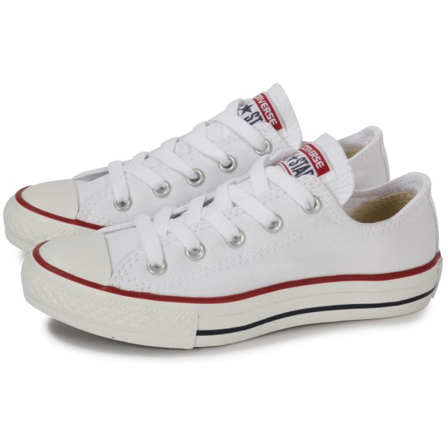 5a84775ee83fa Converse - Chuck Taylor All Star Enfant Basse Blanche - pas cher ...