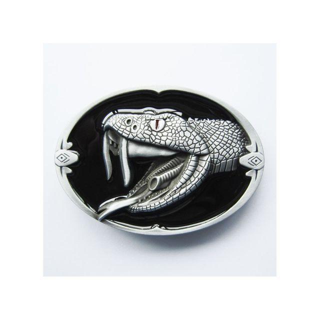 Universel Boucle de ceinture serpent cobra croc homme femme nature 1bb7876eb96