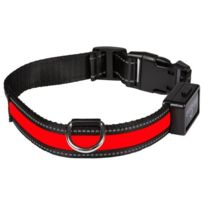 Eyenimal - Collier lumineux Light Collar Usb rechargeable S - Rouge - Pour chien