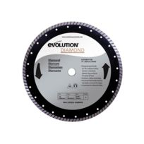 Evolution - Disque diamant Fury 355mm