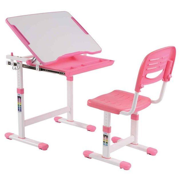 paris prix bureau chaise enfant comfortline 66cm rose pas cher achat vente bureaux. Black Bedroom Furniture Sets. Home Design Ideas