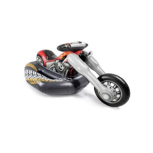 Icaverne Piscine De Jeux - Piscine Gonflable - Pataugeoire - Moto Choper a Chevaucher - 57534NP