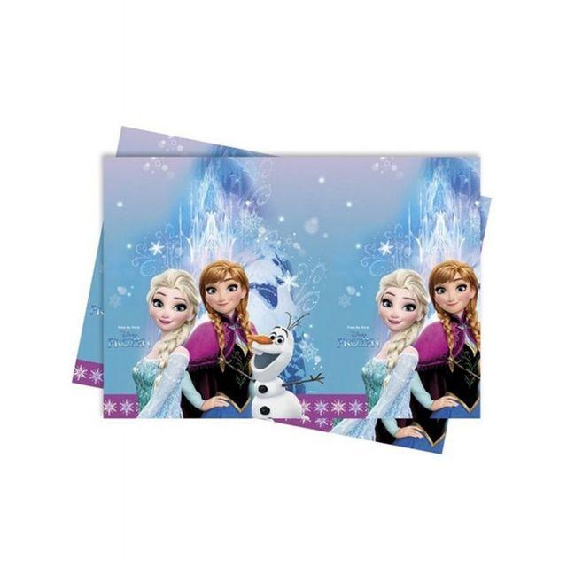 marque generique nappe la reine des neiges 120 x 180cm imprim pas cher achat vente. Black Bedroom Furniture Sets. Home Design Ideas