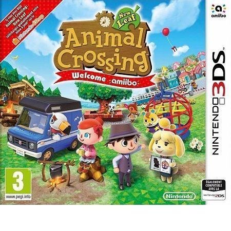 NINTENDO Animal Crossing : New Leaf - Welcome amiibo - 3DS