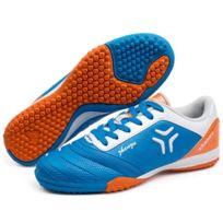 Wewoo - Chaussures de foot bleu Pu Football Chaussures, Eu Taille: 33