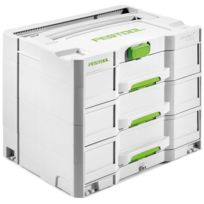 Festool - Systainer Sys 4TL-Sort - 3 tiroirs - 200119