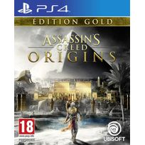 UBISOFT - Assassin's Creed Origins Édition Gold - PS4