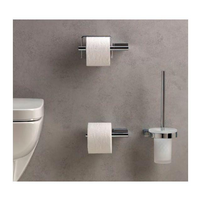 kludi porte rouleau papier toilette a xes chrome pas cher achat vente accessoires de salle. Black Bedroom Furniture Sets. Home Design Ideas