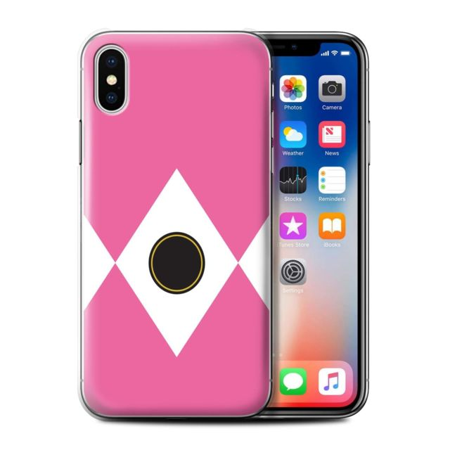 coque iphone xs rose apple