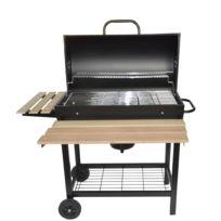 Concept Usine - Savannah: Barbecue moblie et élégant au bois ou au charbon