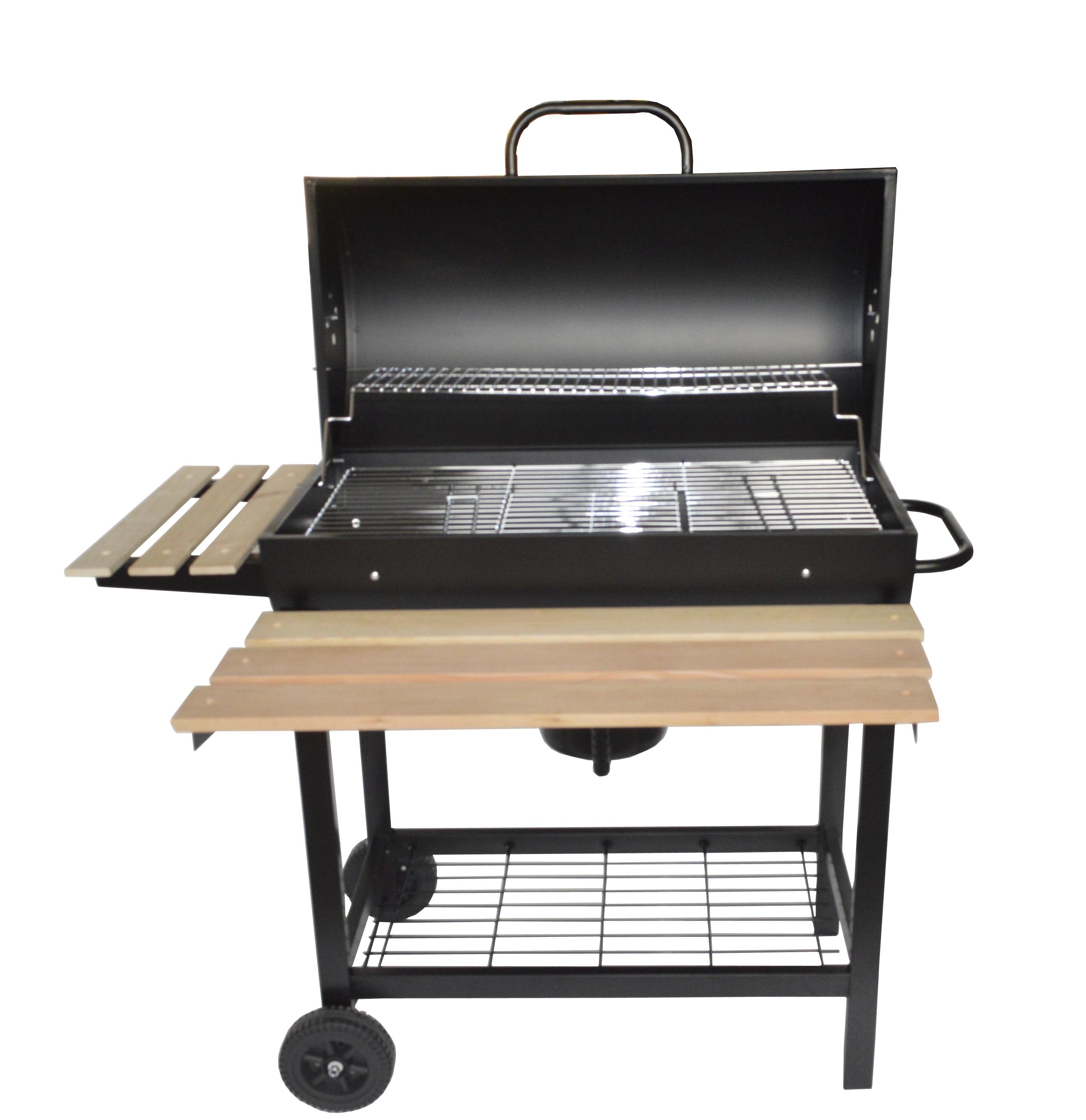 SAVANNAH: Barbecue moblie et élégant au bois ou au charbon