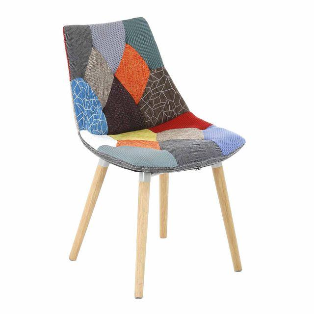 chaise patchwork alinea. Black Bedroom Furniture Sets. Home Design Ideas