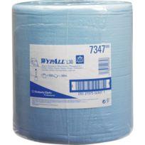Kimberly Clark - Wypall L30 Essuie tout 33x38cm bleu 1000 feuilles