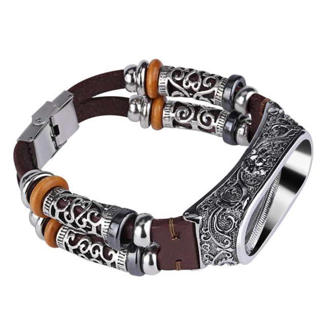 bracelet cuir mi band 4