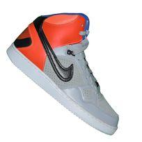 Nike - Basket Sneaker - Son Of Force Mid - Gris Noir Orange