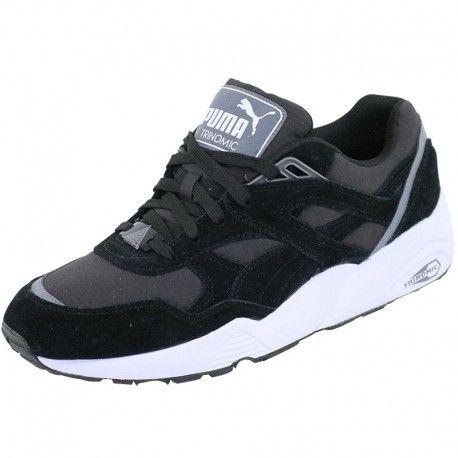 Pas Achat Noir Cher Puma Vente R698 Homme Baskets Chaussures rCoedWBx
